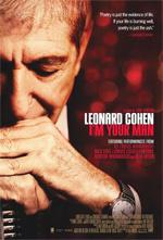Locandina Leonard Cohen I'm Your Man