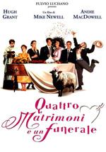 Poster Quattro matrimoni e un funerale  n. 2