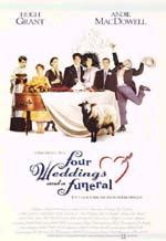 Poster Quattro matrimoni e un funerale  n. 1