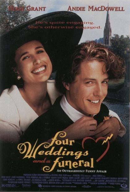 poster 1 - quattro matrimoni e un funerale