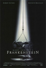 Locandina Frankenstein di Mary Shelley