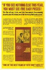 Poster Cinque pezzi facili  n. 1