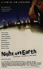 Poster Taxisti di notte - Los Angeles New York Parigi Roma Helsinki  n. 0