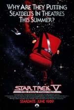 Poster Star Trek V - L'ultima frontiera  n. 1