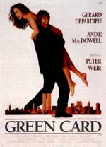 Poster Green Card - Matrimonio di convenienza  n. 1
