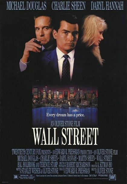Locandina italiana Wall Street