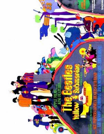 Poster Yellow Submarine - Il sottomarino giallo