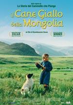 Locandina Il cane giallo della Mongolia