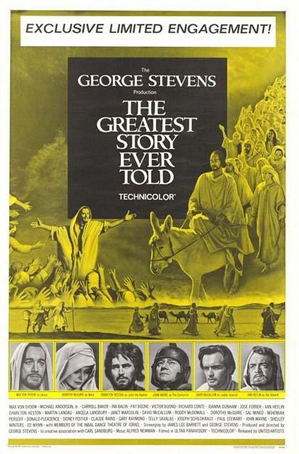 Poster La più grande storia mai raccontata