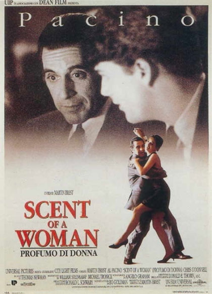 Scent of a Woman Profumo di donna: Il film stasera su Cine