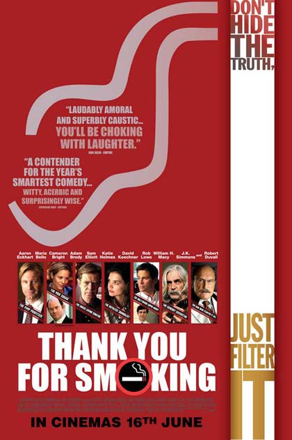 Poster Thank You For Smoking