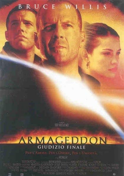 Locandina italiana Armageddon - Giudizio finale