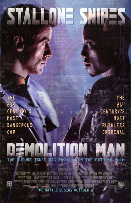 Poster Demolition Man