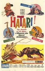 Poster Hatari!  n. 1