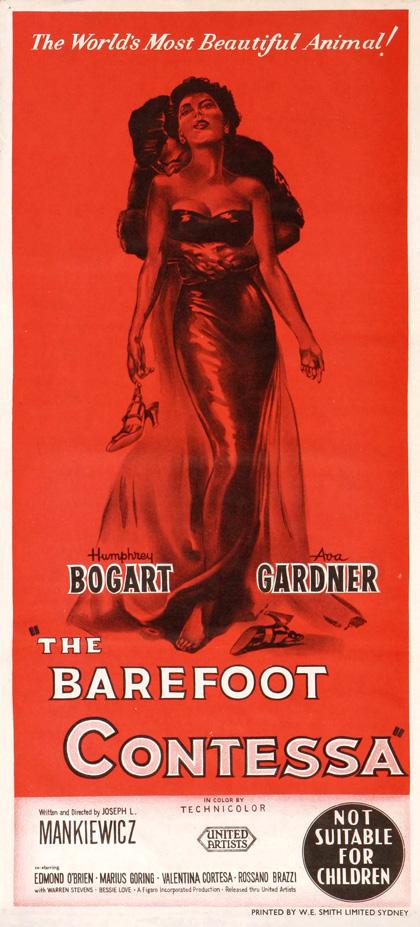 Poster La contessa scalza