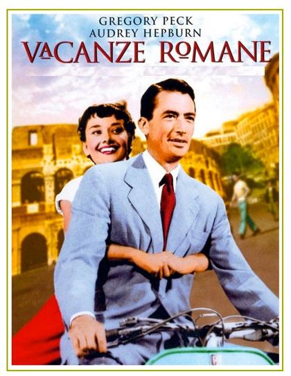 Locandina italiana Vacanze romane
