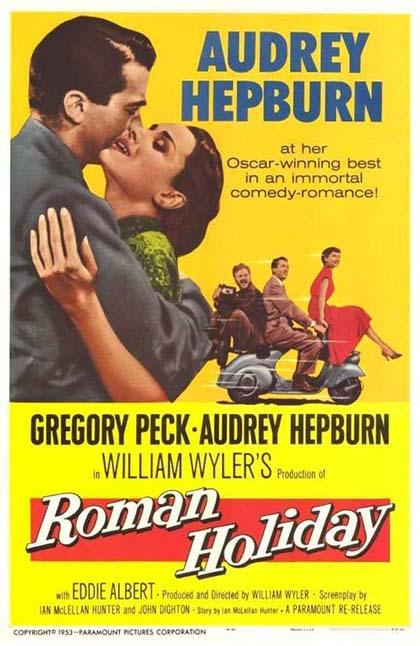 Poster Vacanze romane