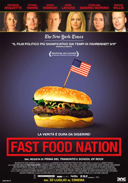 Locandina italiana Fast Food Nation