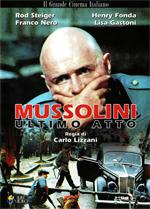 Locandina Mussolini ultimo atto