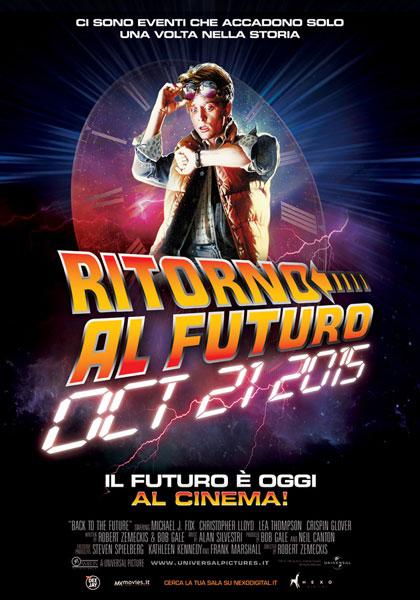 Locandina italiana Ritorno al futuro