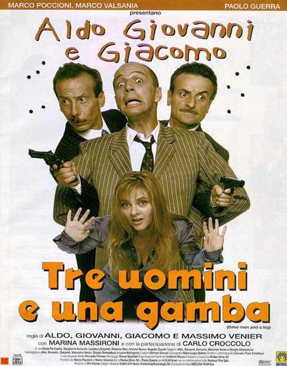 Tre Uomini E Una Gamba Film 1997 Mymovies It