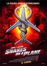 Locandina Snakes on a Plane