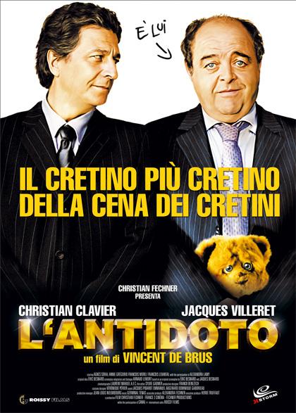 Locandina italiana L'antidoto