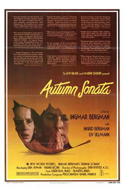 Poster Sinfonia d'autunno