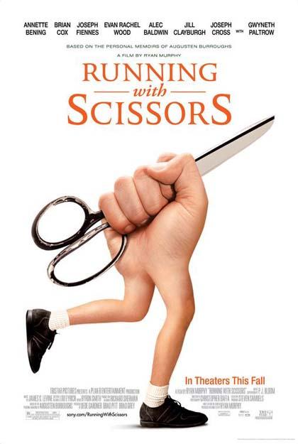 Poster Correndo con le forbici in mano