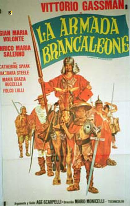Locandina italiana L'armata Brancaleone