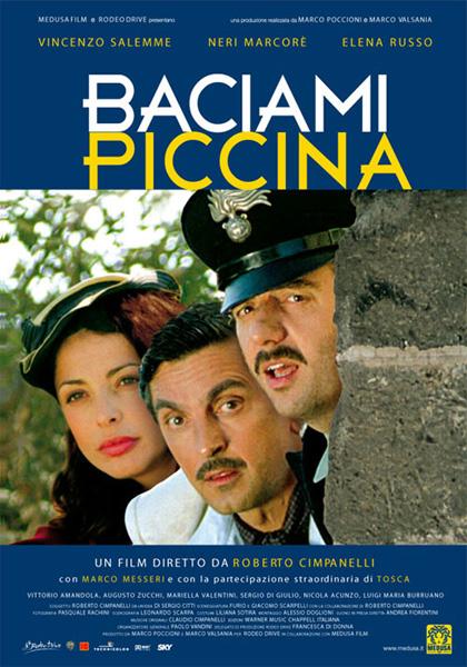 Locandina italiana Baciami piccina