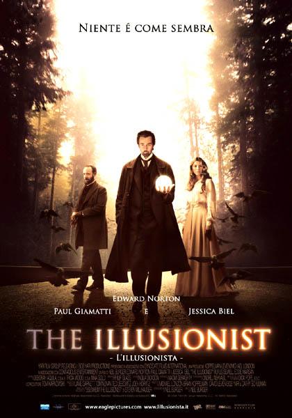 Locandina italiana The Illusionist - L'illusionista
