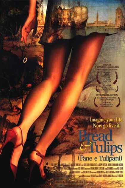 Poster Pane e tulipani