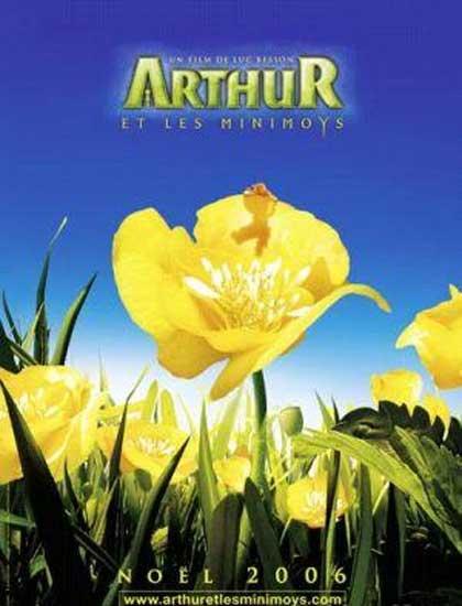 Poster Arthur e il popolo dei Minimei