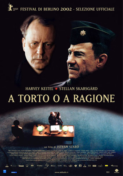 Locandina italiana A torto o a ragione