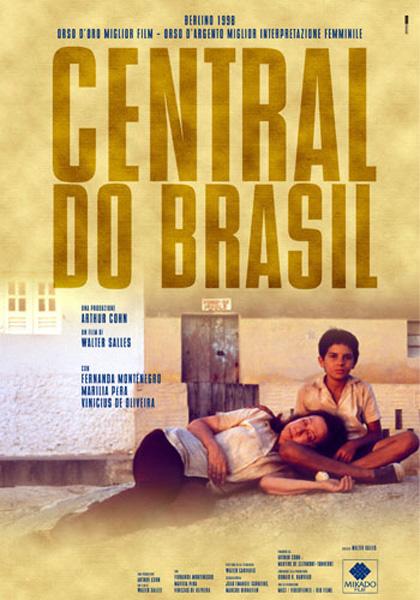 Locandina italiana Central do Brasil