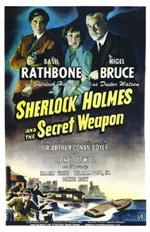Locandina Sherlock Holmes e l'arma segreta