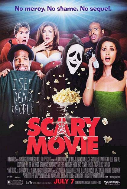Poster Scary Movie - Senza paura, senza vergogna, senza cervello!