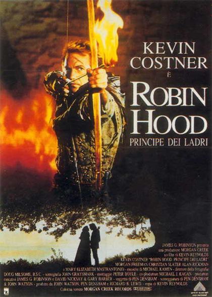 Locandina italiana Robin Hood principe dei ladri