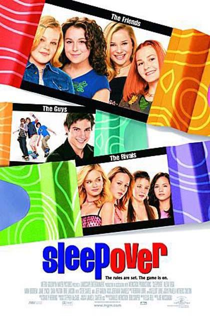 Poster Sleepover