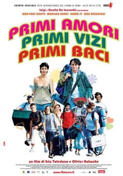 Locandina italiana Primi amori, primi vizi, primi baci