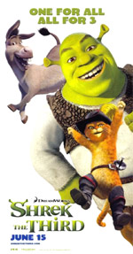 Poster Shrek terzo  n. 10