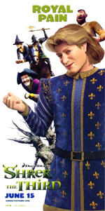 Poster Shrek terzo  n. 8