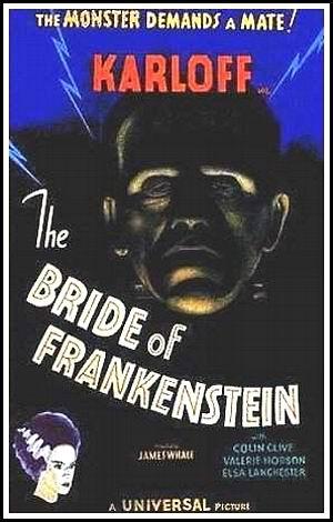 Locandina italiana La moglie di Frankenstein