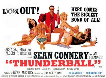 Trailer Agente 007, Thunderball - Operazione tuono