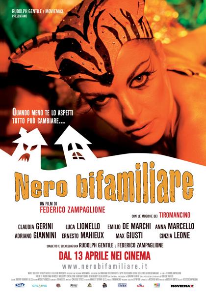 Locandina italiana Nero bifamiliare