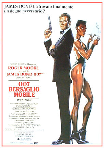 Locandina italiana 007 - Bersaglio Mobile