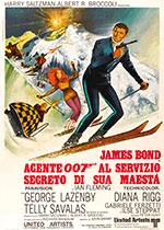 Poster Agente 007 - Al servizio segreto di sua maestà  n. 0