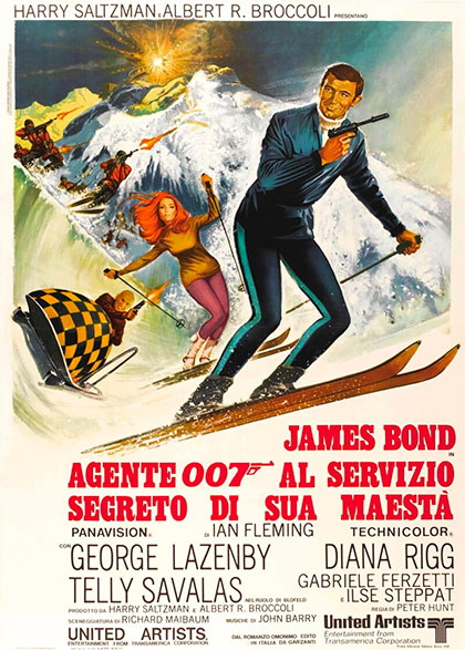 Locandina italiana Agente 007 - Al servizio segreto di sua maestà