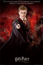 Poster Harry Potter e l'ordine della fenice  n. 4